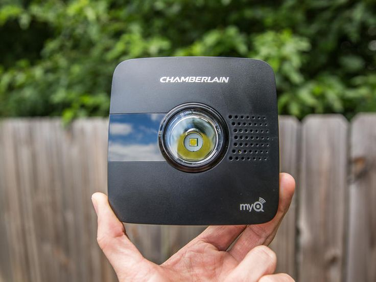 The Chamberlain MyQ Garage is one of the most affordable smart garage-door openers, and also one of the easiest to install. Check it out: http://cnet.co/1ryyYAo