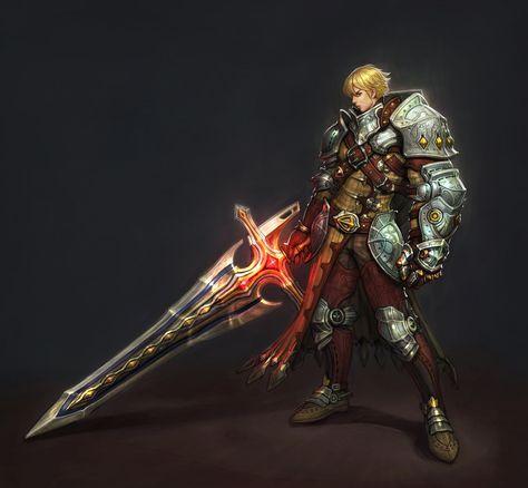ArtStation - Steam knight, 보연 원