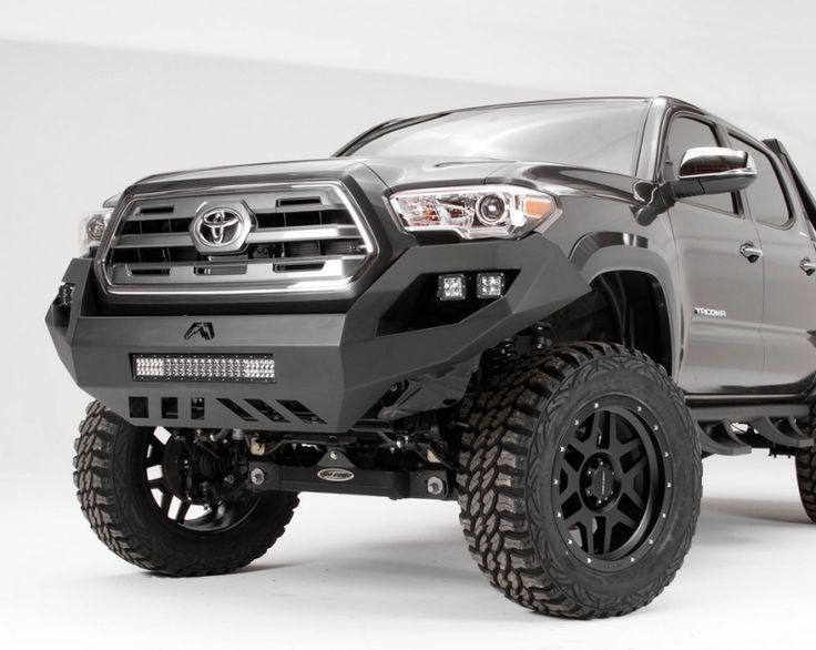 Fab Fours TT16-D3651-1 Vengeance Front Bumper with No Guard Toyota Tacoma 2016-2017