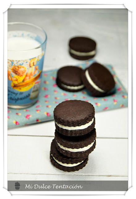 Mi dulce tentación: Galletas Oreo Caseras
