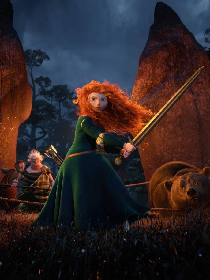 Princess Merida (Brave). My favorite Disney Princess