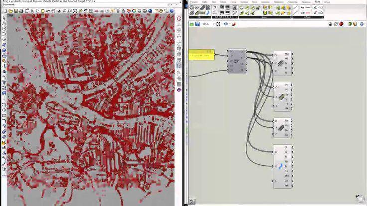 Site Modeling : Elk Grasshopper Tutorial using Open Street Map