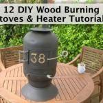 12 DIY Cheap Wood Burning Stoves & Heater Tutorials
