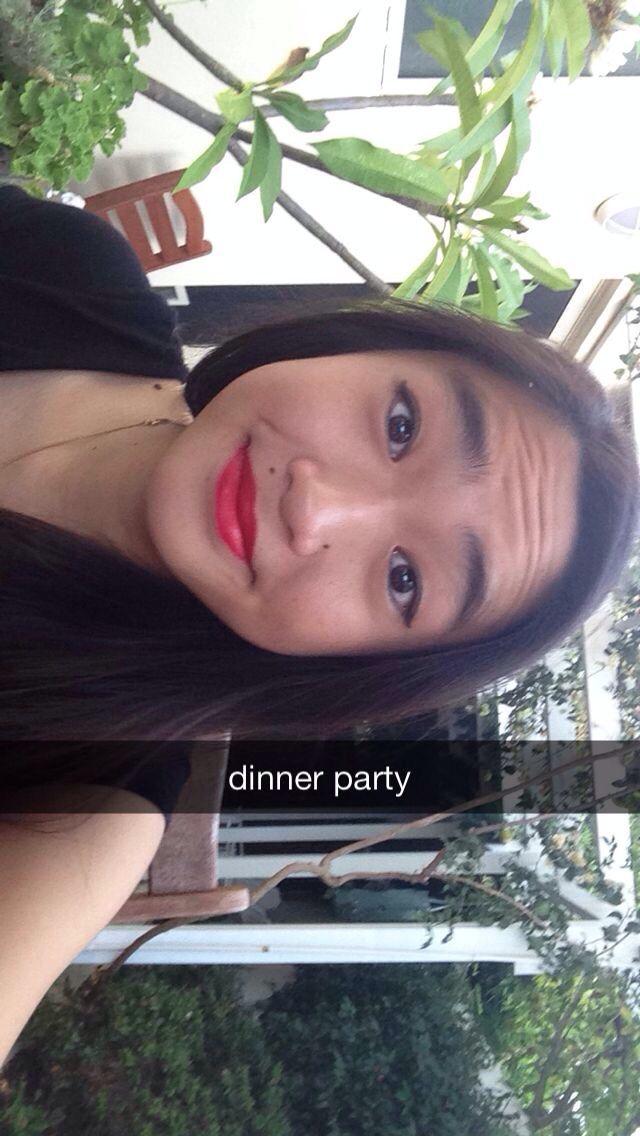 Caitlin's fab dinner party 18/1/14