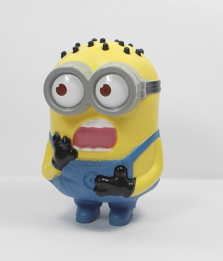 Despicable Me - Minion - Tom - Babbler - Toy Figure - Cake Topper