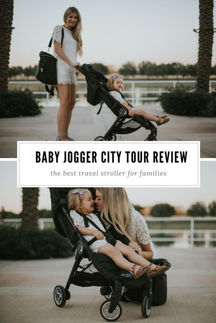 Baby Jogger City Tour Stroller for Travel | travel stroller, travel tips, traveling with kids, stroller review