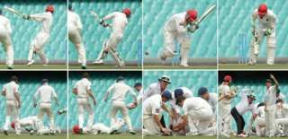 """Image copyright                  Getty Images                  Image caption                                      Cricket player Phil Hughes was killed by a delivery at the Sydney Cricket Ground in 2014                                The death of Australian cricketer Phillip Hughes was """"inevitable"""" from the moment he was struck by a cricket ball, a cor"""