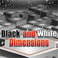 Black and White Dimensions - http://www.allgamesfree.com/black-and-white-dimensions/  -------------------------------------------------  40 levels with 3D Mahjong in Black and White. Match 2 of the same free cubes: 1 white cube and 1 black cube. Cubes are free if they have two free adjacent sides. You can rotate your view.   -------------------------------------------------  #BoardGames