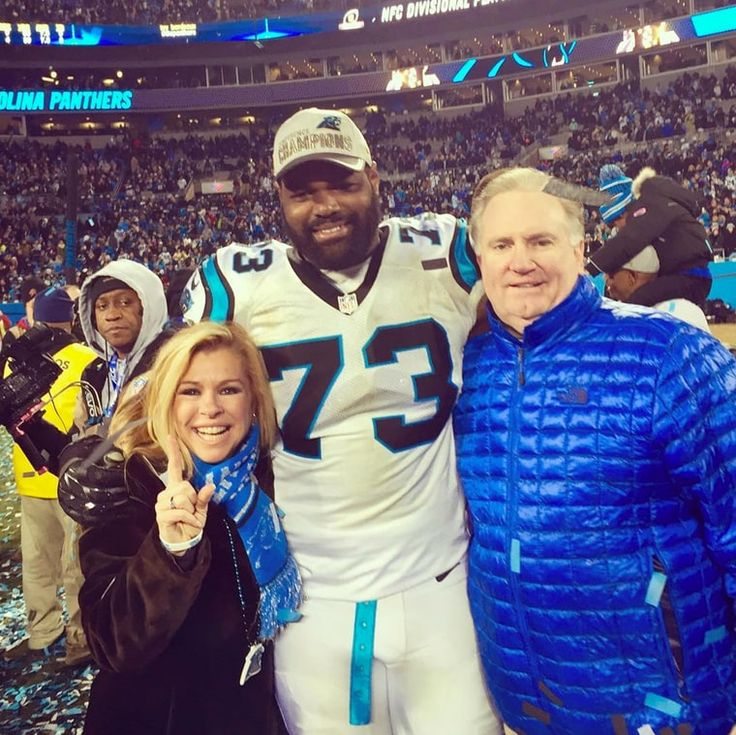 Leigh Anne Tuohy, Michael Oher and Sean Tuohy