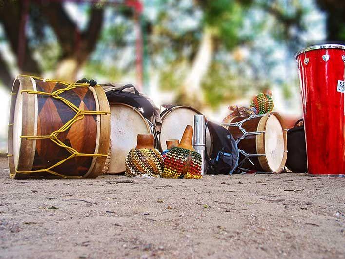 Instrumentos musicais que me deixam mais feliz...