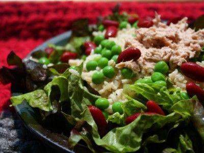Tonijn-kidneybonen salade - Lekkere gerechten met videouitleg op Kookse.tv