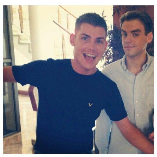 Awwww it's Kieron and PJ!!!!! xD #Stug!!! #Hollyoaks @MrkieronR @peejaybrennan ❤