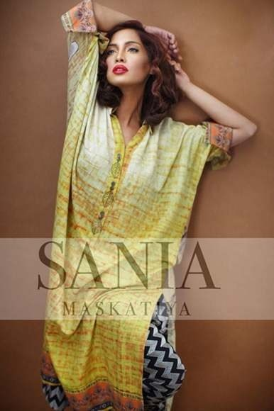 New Outfits Sania Maskatiya Winter Collection 2012 For Women (1)