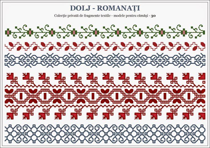 Romanian traditional motifs - OLTENIA