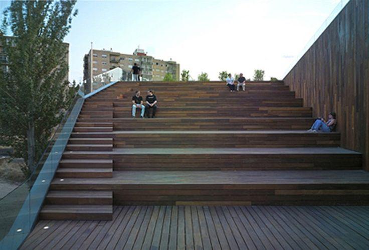 Nueva sede del servicio de medio ambiente, Zaragoza, 2010