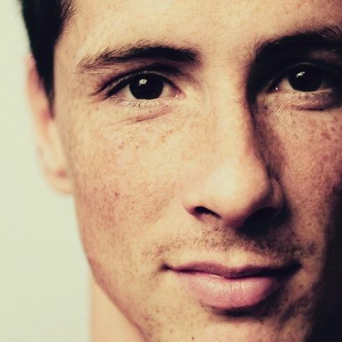 Fernando Torres, El niño que corre.