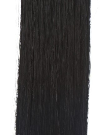 "Darkest Brown One Piece Hair Extensions Straight - If you want to add extra volume to your hair, there is no easier way than with a darkest brown one piece hair extension. This one piece is 24"" long and is volume boosting straight style and darkest brown (1b) colour. #essentialhairpieces"