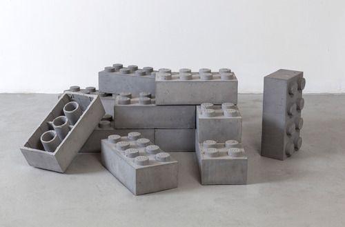 Andrew Lewicki, Concrete Legos, 2010