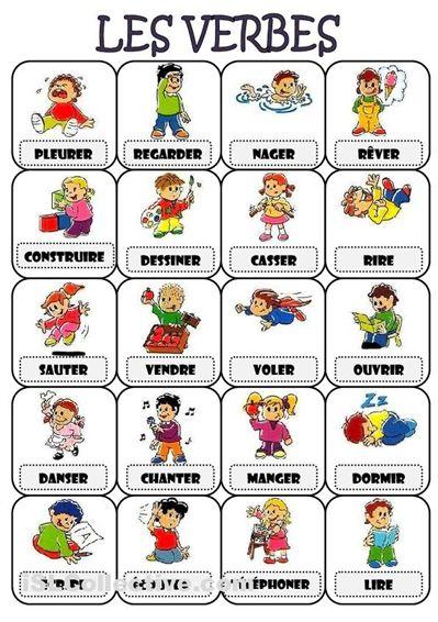 ...verb game!