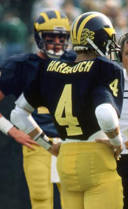 Jim Harbaugh, Michigan Football