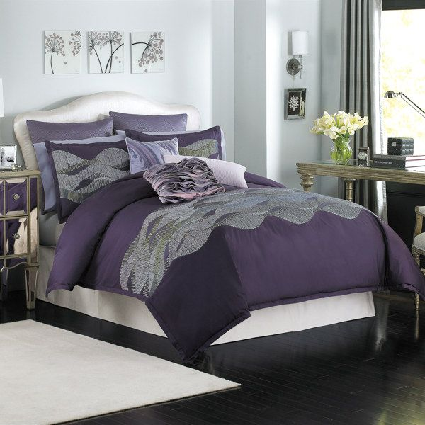 Best 25+ Dark Purple Bedrooms Ideas On Pinterest
