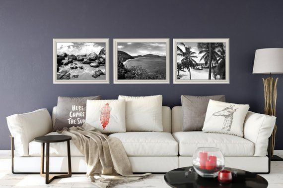 Beach Print Set Sale Living Room Wall Art Bvi Tropical Prints