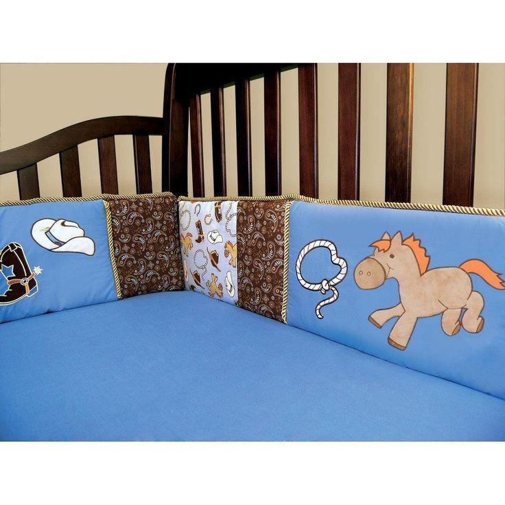 Trend Lab Cowboy Baby Crib Bumper