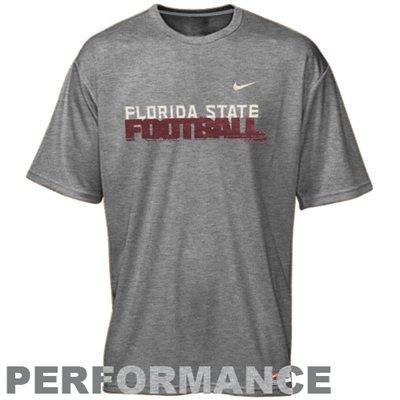 Nike Florida State Seminoles (FSU) Conference Legend Performance T-Shirt - Ash $25