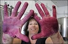 The hands of a winemaker (Lori Corcoran at Corcoran Vineyards).: Dc S Wine, Winemak Loris, Corcoran Wine, Wine Country, Corcoran Vineyard, Wineries Owners, L 3Ve Virginia, Visit Corcoran, Loris Corcoran