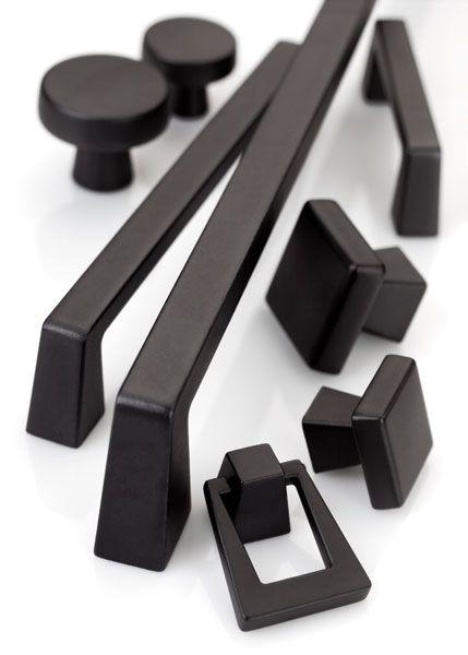 Amerock Decorative Cabinet and Bath Hardware:  BP55278BBR   Cabinet Handle   Black Bronze   Amerock Blackrock Collection