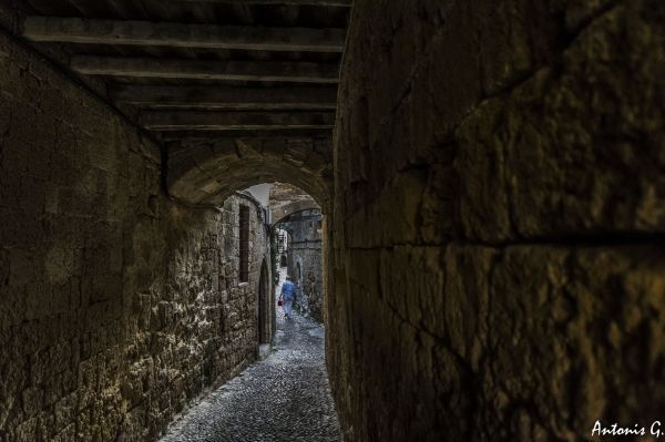 Walk in the Medieval town