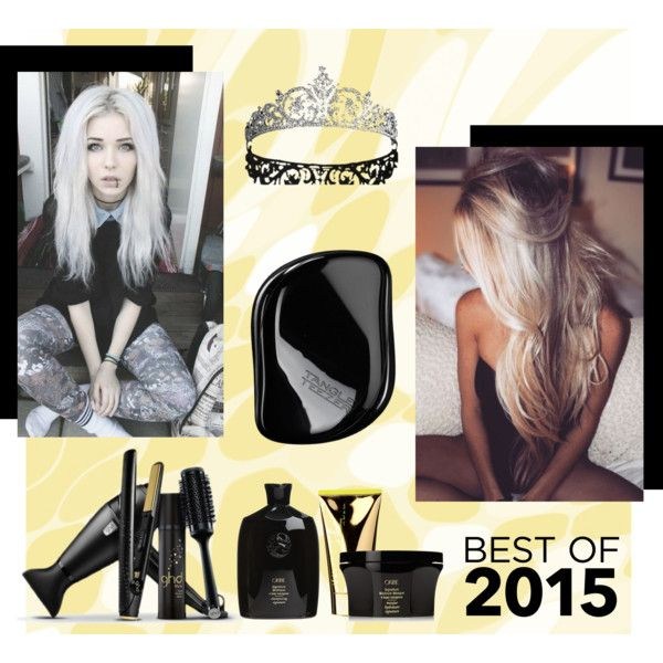 .................... by ludmila-petrova on Polyvore featuring beauty, Tangle Teezer, GHD, Oribe and j.f. lazartigue