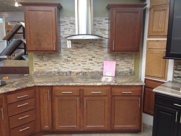 Unique Kitchen Kompact Glenwood Beech Cabinets