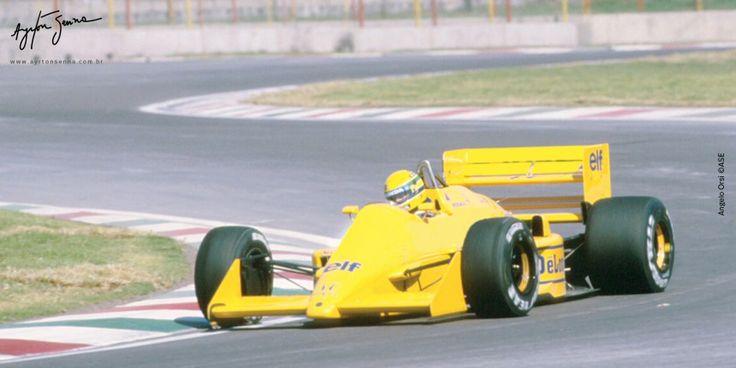 Grande Prêmio do México – 1987 | Ayrton Senna