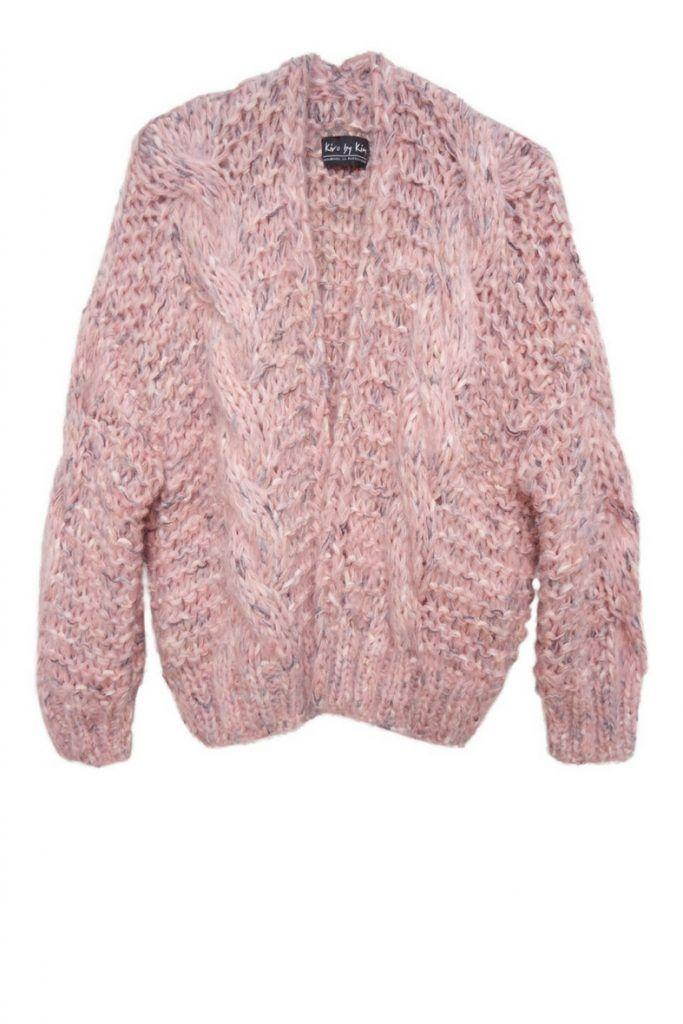 vest roze multi