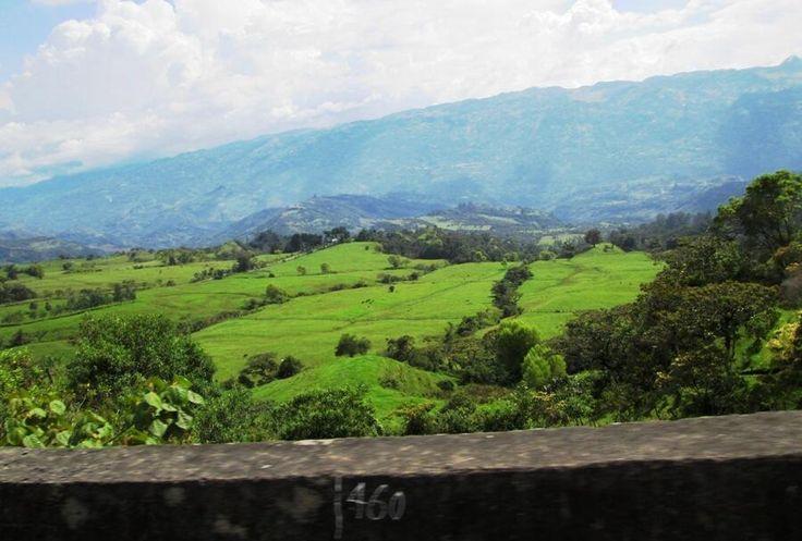 Montañas Veleñas Santander Colombia Foto Luis D Grandas