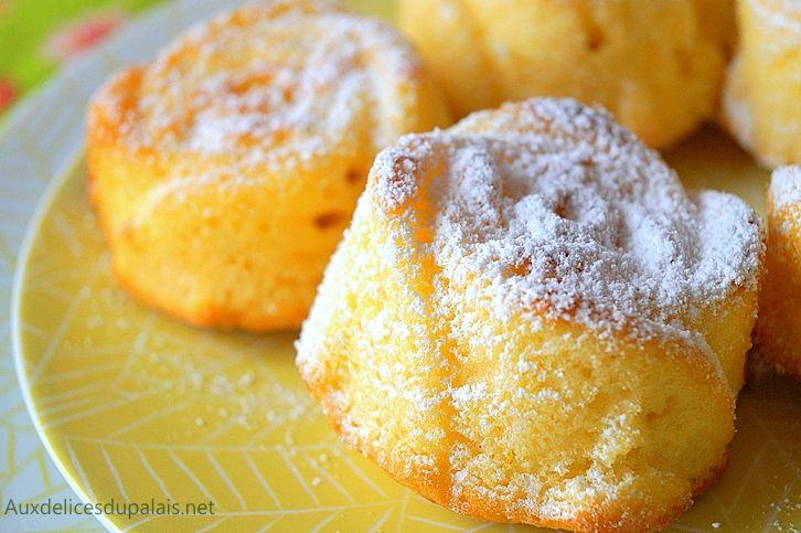 Moelleux au citron facile