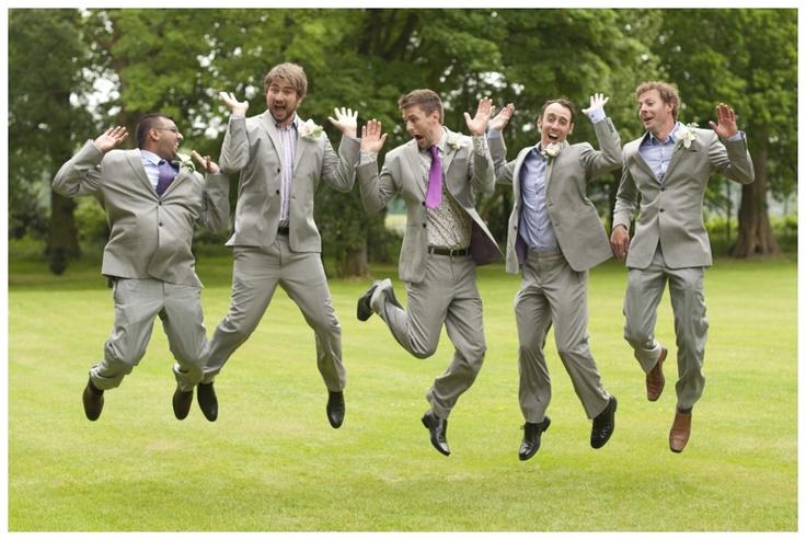 Hilarious ushers picture! #groomsmen