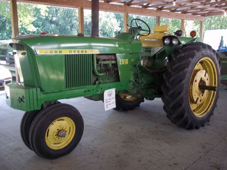 54hp 2510.At that point in time John Deere only made the 1020,2020,2510,3020,4020,5020