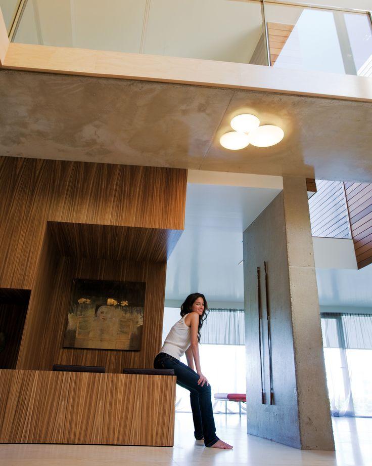 Applique Puck Triple LED / Plafonnier - 56 x 49 cm Blanc - Vibia - Décoration et mobilier design avec Made in Design