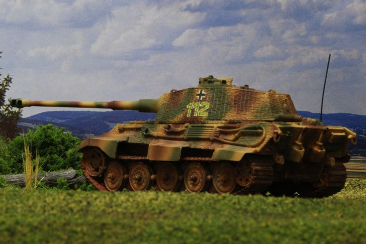 King Tiger model reference image