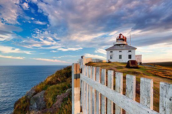 Old Lighthouse On Cape Spear Near St. John's, Avalon Peninsula, Newfoundland, Canada - eStock