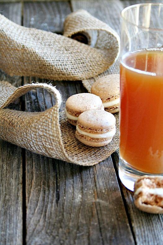 Cinnamon Apple Cider Macarons - heathersfrenchpress
