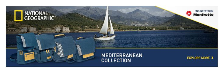 The #Mediterranean #collection is inspired by the sea and travel. The deep blue canvas is parallel to the deep blue colour of the Mediterranean Sea. The blue and white stripes further add to the nautical theme. Ochre leather trim adds a touch of freshness and personality, enriching the style of each #bag.