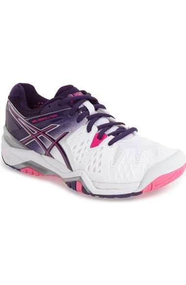 ASICS® 'GEL-Resolution 5' Tennis Shoe (Women) available at #Nordstrom