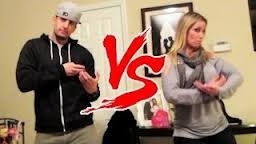 Jesse and Jeana http://www.youtube.com/user/bfvsgf so funny,love them