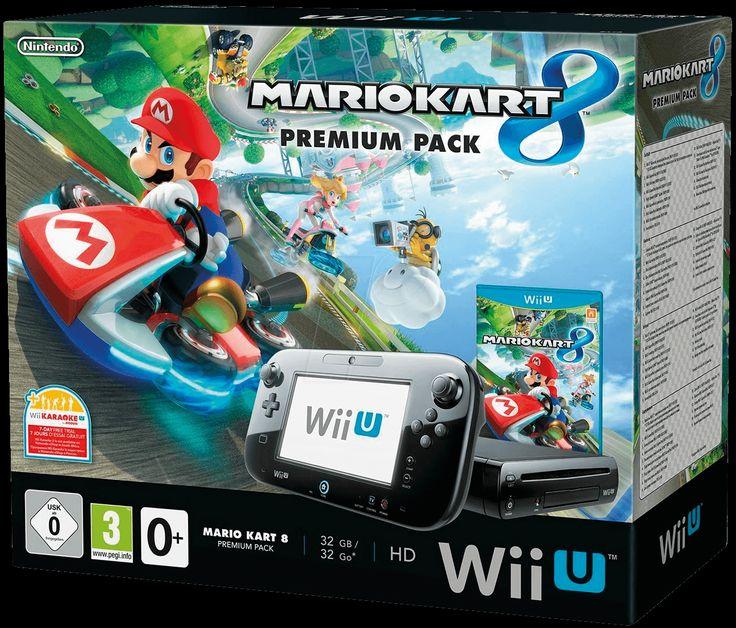 NINT GG 2301032: Nintendo Wii U Premium Pack + Mario Kart 8 bei reichelt elektronik