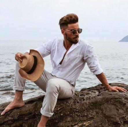 #beach outfit men #best #herm fashion #wedding #Ideen # men beach-outfit  Wedding