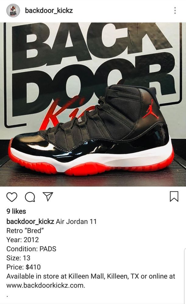 b2f5d647ab0aa6 Nike Air Jordan Retro 11 BRED size 13 VNDS  fashion  clothing  shoes   accessories  mensshoes  athleticshoes (ebay link)
