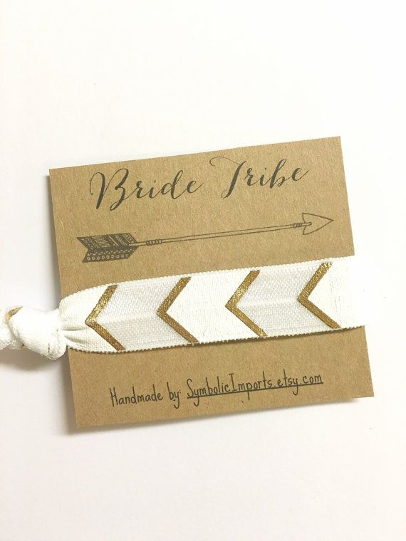 These Bachelorette Party Favors / Bachelorette Hair Tie Party Favors make cute gifts for your bridesmaids and the entire bachelorette party